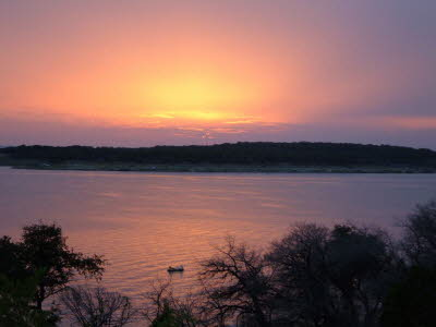 Canyon Lake Sunset 4